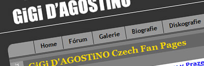Gigi D'Agostino czech fan pages
